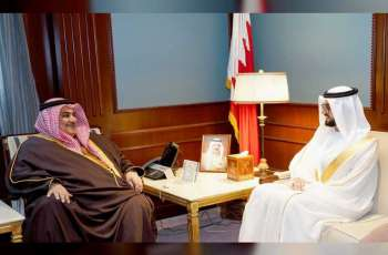 Bahraini FM receives UAE Ambassador