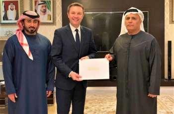 Mattar Al Tayer receives President of international cyclingfederation