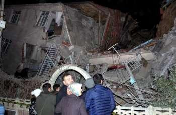 Death Toll From Quake in Eastern Turkey Rises to 39 - Emergency Management Authority