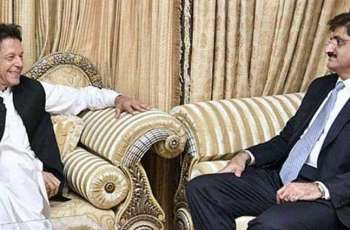 Sindh CM Shah calls on PM, formally asks him for change of provincial police chief