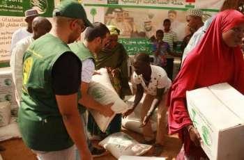 مركز الملك سلمان للإغاثة يسّلم 7,208 سلال غذائية في جمهورية النيجر