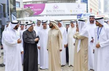 Mohammed bin Rashid visits Arab Health Exhibition