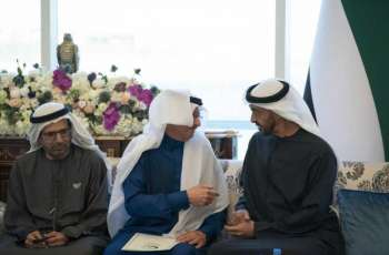 Mohamed bin Zayed receives OIC Secretary-General