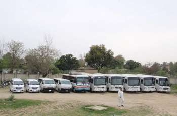 Non-availability of transport staff, lives of students at stake