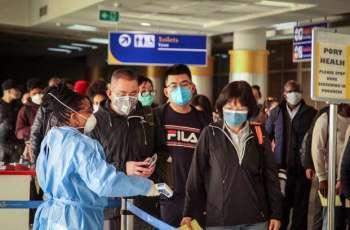 American Evacuees From China Arrive at Air Base in California for Coronavirus Screening