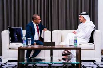 Abdullah bin Zayed reviews cooperation ties with Papua New Guinea's Minister for Foreign Affairs