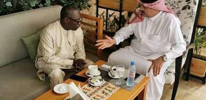 سفير خادم الحرمين الشريفين لدى ليبيريا يلتقي وزير الداخلية الليبيري