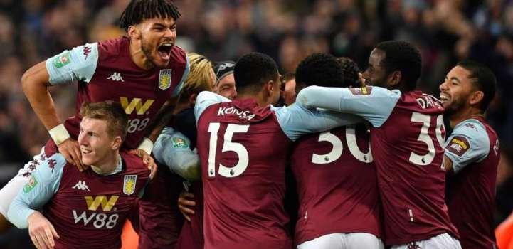 Late Trezeguet goal send Aston Villa into final
