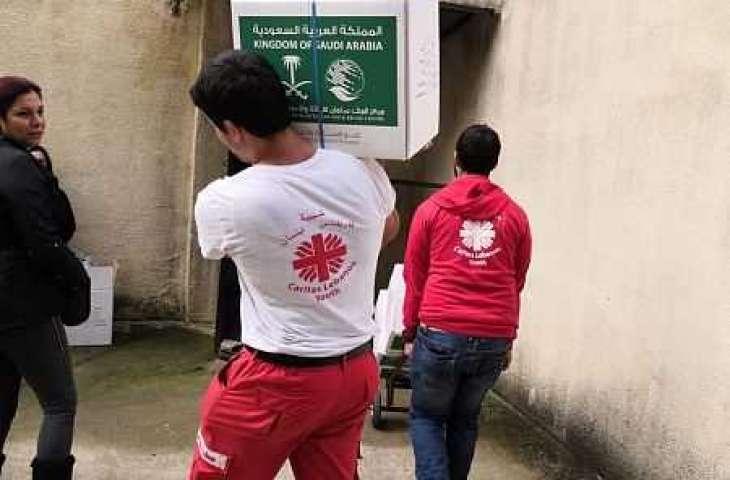 مركز الملك سلمان للإغاثة يختتم مشروع توزيع 10,000 سلة غذائية في لبنان
