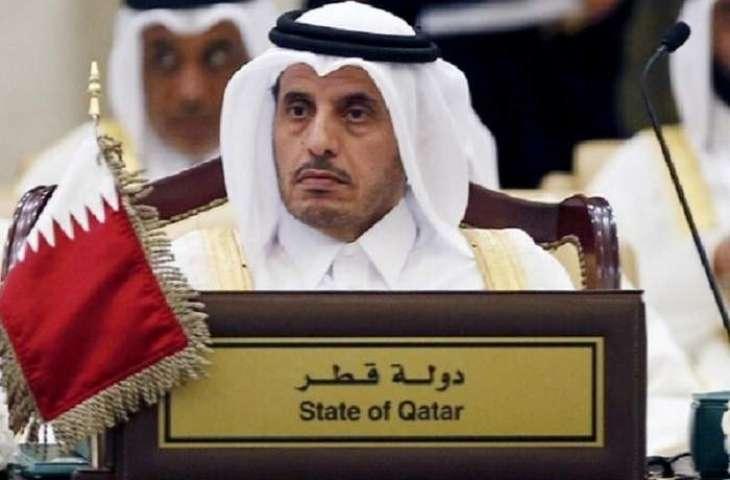 رئیس الوزراء القطري المستقیل عبداللہ بن ناصر بن خلیفة آل ثاني یعرب عن شکرہ لأمیر الدولة علي ثقتہ