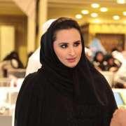 الشیخة جواھر بنت حمد بن سحیم آل ثاني زوجة أمیر قطر تعزي بوفاة السلطان قابوس بن سعید