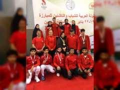 منتخب المبارزة يتوج بالمركز الأول في ختام البطولة العربية للشباب والناشئين بالبحرين