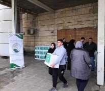 مركز الملك سلمان للإغاثة يواصل توزيع السلال الغذائية للأسر الأشد فقرًا في لبنان