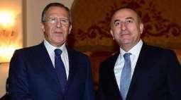 Lavrov, Cavusoglu Discuss Syrian Conflict Settlement in Phone Talks