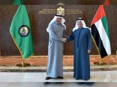 Gargash meets Abdullatif bin Al Zayani