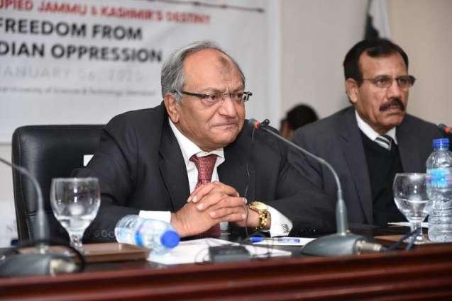 "NUST arranges seminar on ""Indian-Occupied Jammu & Kashmir's Destiny: Freedom from Indian Oppression"""