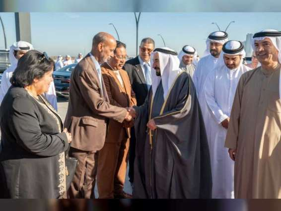 Sharjah Ruler opens Literary Cafe in Al Heera