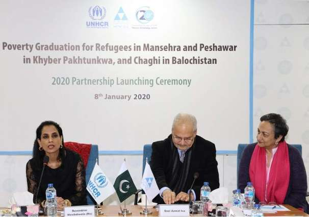 UNHCR, PPAF launch livelihood project to help refugees and host communities