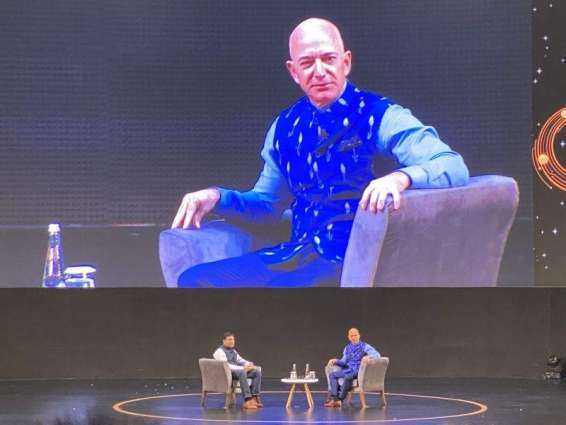 Amazon CEO Unveils $1Bln Investment to Digitize Indian SME Businesses Over 5 Years
