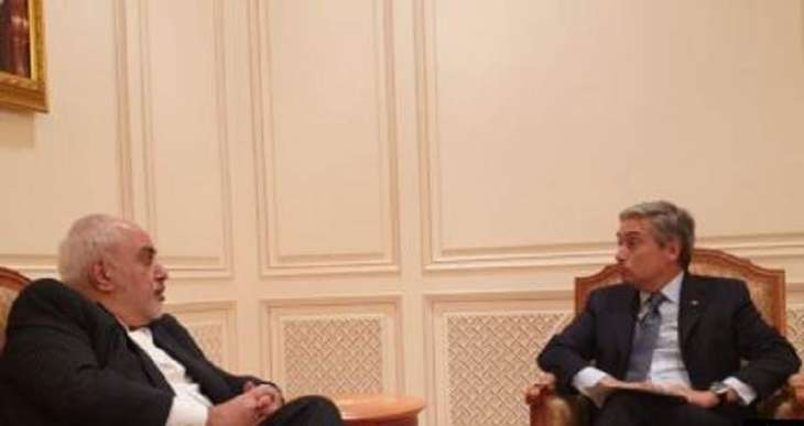 Iranian, Canadian Foreign Ministers Discuss Ukrainian Plane Crash at Rare Meeting in Oman