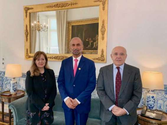 Al Jarwan meets Portuguese foreign policy officials