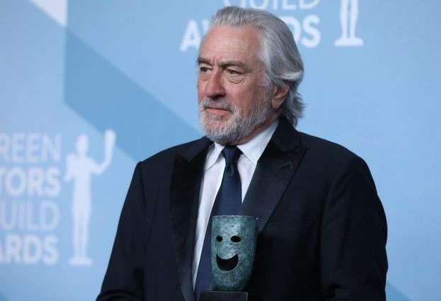 De Niro takes shot at Trump as he accepts SAG lifetime award