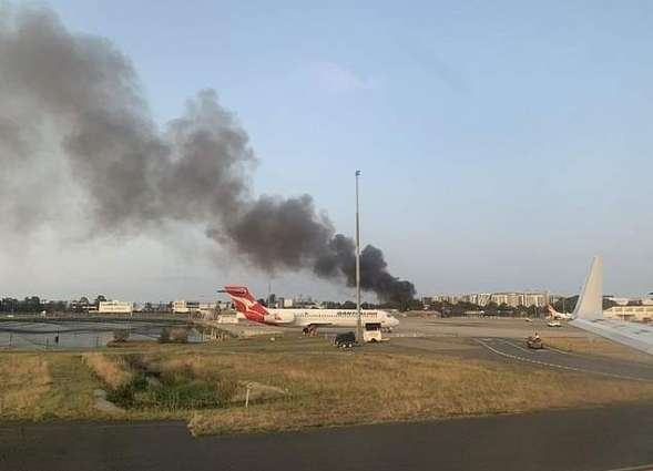 Warehouse Catches Fire Near Sydney Airport in Australia Reports