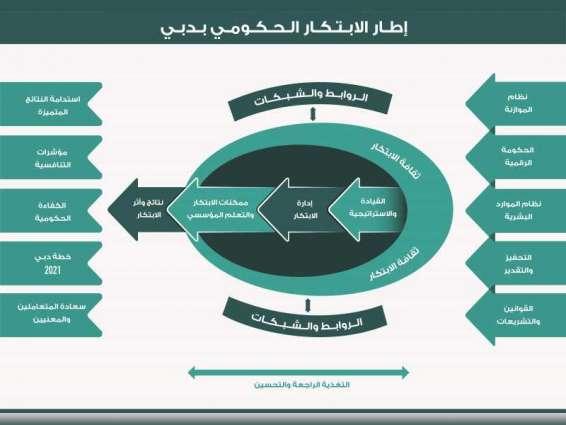 """إطلاق """" دليل إطار الابتكار الحكومي """" في دبي"""
