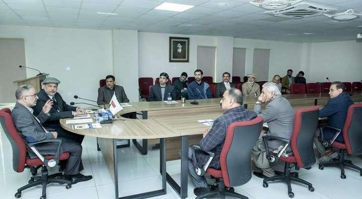 Secretary Livestock NadeemIrshadKayani visited Ravi Campus Pattoki