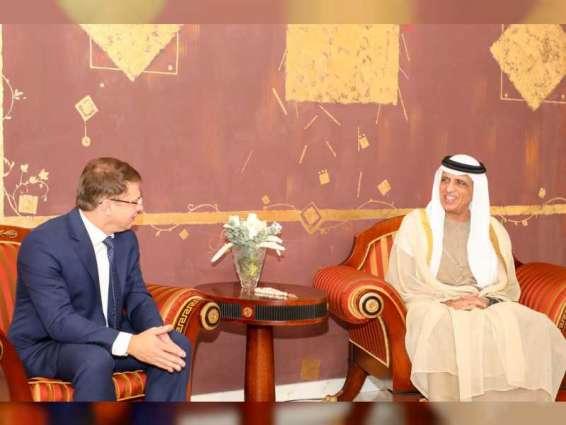 RAK Ruler receives Ambassador of Belarus