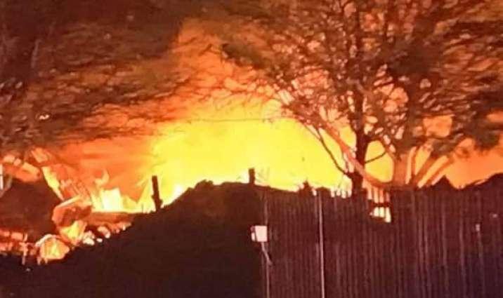 Heavy blast heard in US city Houston