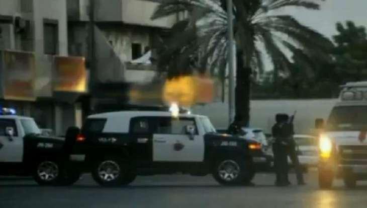 اصابة قائد حافلة جامعیة من جنسیة ھندیة اثر اطلاق النار في المملکة العربیة السعودیة