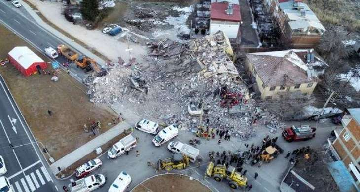Death Toll From Eastern Turkey Earthquake Reaches 29 - Emergency Management Agency