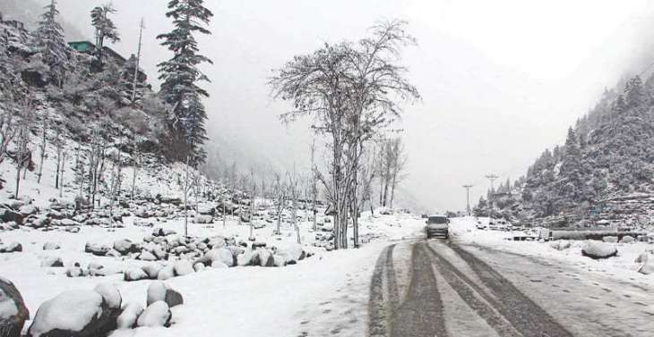 Rain with snowfall over hills expected in North Balochistan, upper Punjab, GB, Kashmir