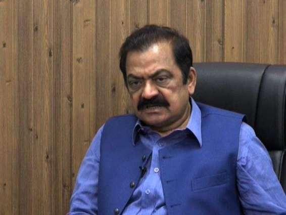Rana Sana Ullah asks for mid-term elections