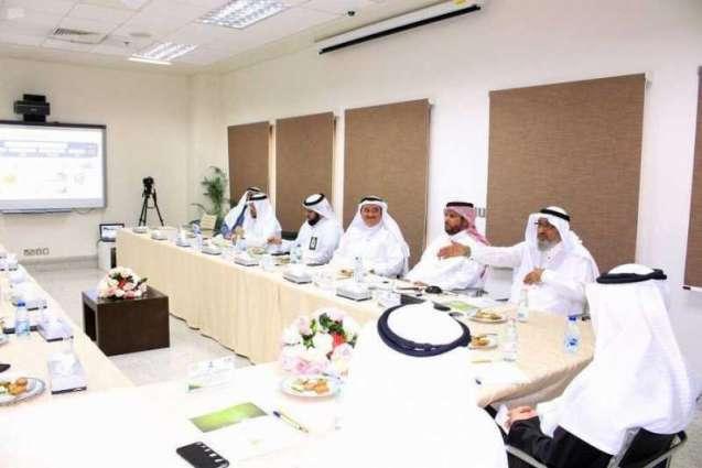 رئيس البنك الإسلامي للتنمية يزور الوقف العلمي بجامعة الملك عبدالعزيز