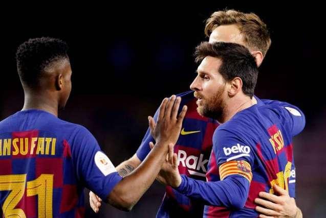 Barcelona move into the quarter-finals of the Copa del Rey