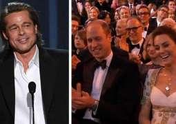Brad Pitt leaves Prince William, Kate Middleton laughing awkwardly over his Harry joke