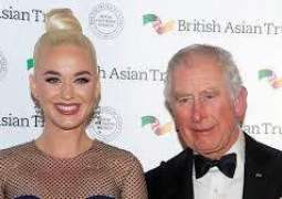 Katy Perry named Asian charity ambassador by UK's Prince Charles