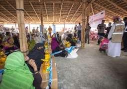ERC continue providing humanitarian aid to Rohingya refugees in Bangladesh