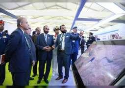 Al Bowardi meets Indian Defence Minister, visits DefExpo-2020