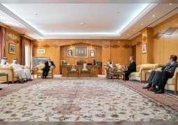 Sharjah Ruler receives US Ambassador to UAE
