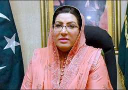Clattering of spoons, forks coming from restaurants of London instead of reports on Nawaz Sharif platelets: Firdous Ashiq Awan