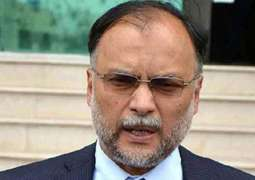 Imran making national institutions controversial by shifting burden of his incompetence on them: Ahsan Iqbal