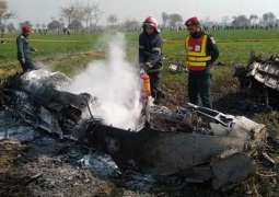 PAF Mirage aircraft on routine training mission crashes near Shorkot