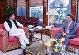 DG ISI calls on PM Imran Khan