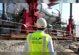 Giant gas turbine moved by road to EGA Jebel Ali in logistical feat