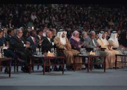 Theyab bin Mohamed bin Zayed officially opens the 10th World Urban Forum in Abu Dhabi
