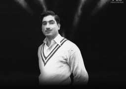PCB mourns the passing of Waqar Hasan, the last surviving member of the first Test squad