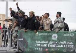 Mohammed bin Rashid, Saif bin Zayed attend 'UAE SWAT Challenge'